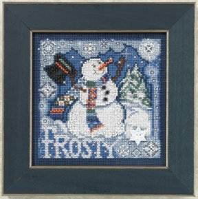 Mill Hill Buttons & Bead Kits MH140304 Winter Series 2010 ~ Frosty Snowman
