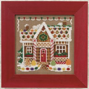 Mill Hill Buttons & Bead Kits MH140306 Winter Series 2010 ~ Gingerbread House