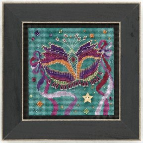 Mill Hill Buttons & Bead Kits MH141102 Spring Series 2011 ~ Purple Mask