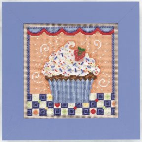Mill Hill Buttons & Bead Kits MH141106 Spring Series 2011 ~ Chocolate Cupcake