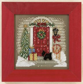 Mill Hill Buttons & Bead Kits MH141301 Winter Series 2011 ~ Home For Christmas