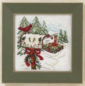 Mill Hill Buttons & Bead Kits MH141302 Winter Series 2011 ~ Holiday Delivery