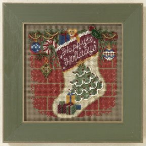 Mill Hill Buttons & Bead Kits MH141305 Winter Series 2011 ~ Holiday Stocking