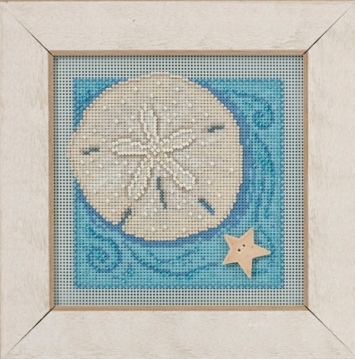 Mill Hill Buttons And Bead Kits MH141612 Spring Series 2016 ~ Sand Dollar