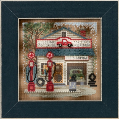 Mill Hill Buttons And Bead Kits MH141614 Spring Series 2016 ~ Main Street ~ Joe's Garage