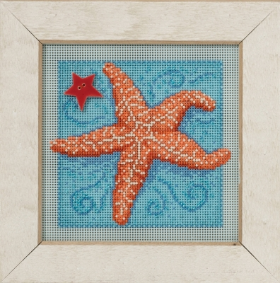 Mill Hill Buttons And Bead Kits MH141615 Spring Series 2016 ~ Starfish