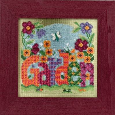 Mill Hill Buttons And Bead Kits MH141616 Spring Series 2016 ~ Garden
