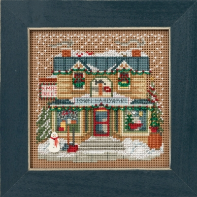 Mill Hill Buttons And Bead Kits MH141631 Winter Series 2016 ~ Christmas Village ~ Town Hardware