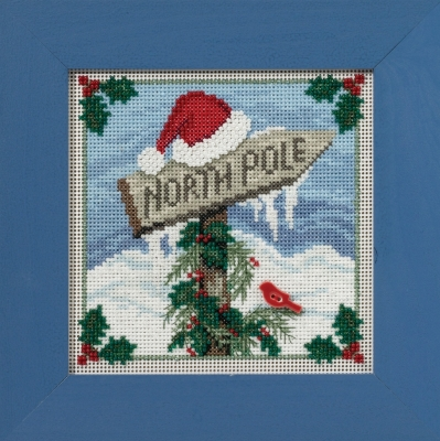 Mill Hill Buttons And Bead Kits MH141632 Winter Series 2016 ~ North Pole