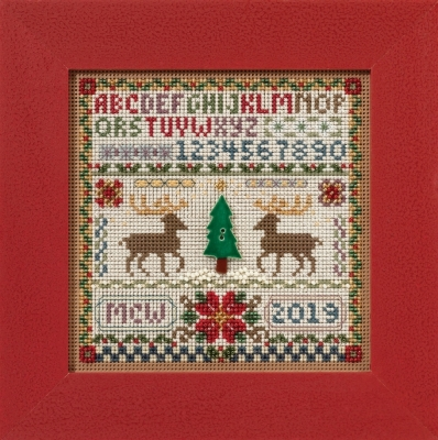 Mill Hill Buttons And Bead Kits MH141633 Winter Series 2016 ~ Holiday Sampler