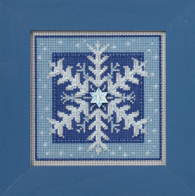 Mill Hill Buttons And Bead Kits MH141635 Winter Series 2016 ~ Crystal Snowflake