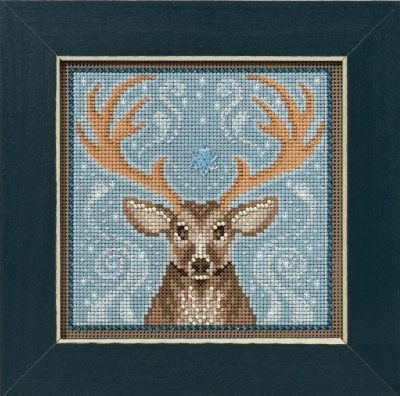 Mill Hill Buttons And Bead Kits MH141636 Winter Series 2016 ~ Winter Stag