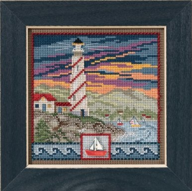 Mill Hill Buttons And Bead Kits MH141714 Spring Series 2017 ~ Lighthouse
