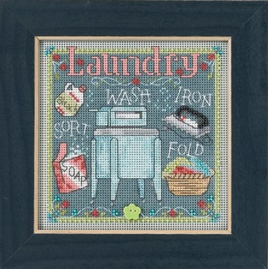 Mill Hill Buttons And Bead Kits MH141716 Spring Series 2017 ~ Laundry