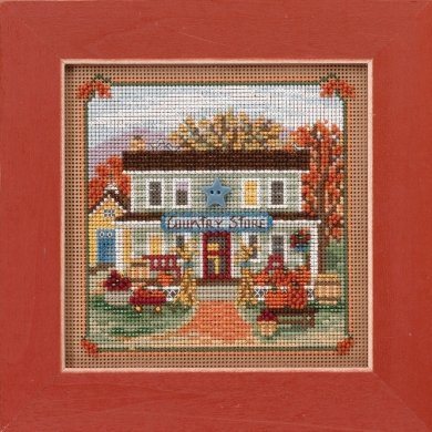 Mill Hill Buttons And Bead Kits MH141722 Autumn Series 2017 ~ Country Lane ~ Country Store