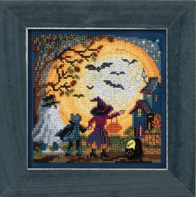 Mill Hill Buttons And Bead Kits MH141724 Autumn Series 2017 ~ Moonlit Treaters