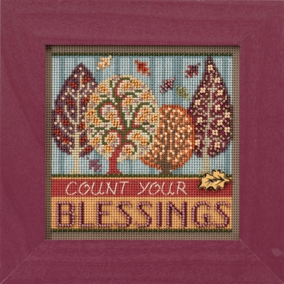 Mill Hill Buttons And Bead Kits MH141725 Autumn Series 2017 ~ Blessings