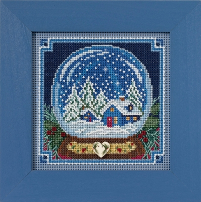 Mill Hill Buttons And Bead Kits MH141734 Winter Series 2017 ~ Snow Globe