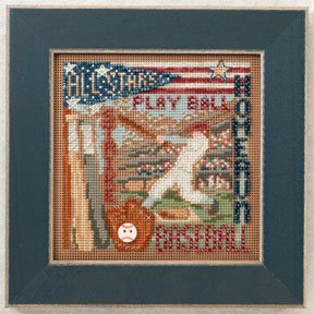 Mill Hill Buttons & Bead Kits MH142106 Spring Series 2012 ~ Home Run