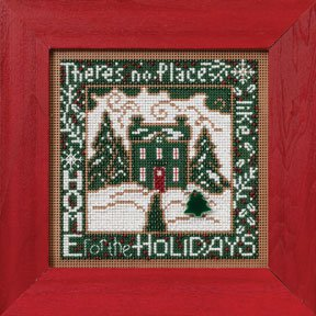 Mill Hill Buttons & Bead Kits MH142301 Winter Series 2012 ~ Home For The Holidays