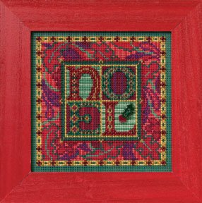 Mill Hill Buttons & Bead Kits MH142303 Winter Series 2012 ~ Tapestry Noel
