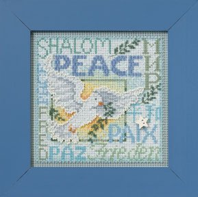 Mill Hill Buttons & Bead Kits MH142304 Winter Series 2012 ~ World Peace