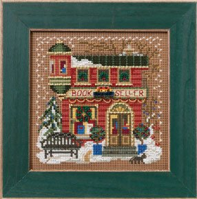 Mill Hill Buttons & Bead Kits MH142305 Winter Series 2012 ~ Book Seller