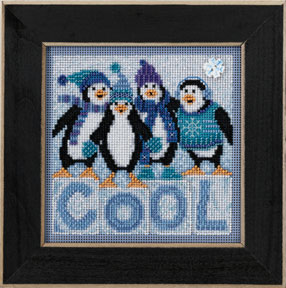 Mill Hill Buttons & Bead Kits MH143301 Winter Series 2013 ~ Cool Quartet