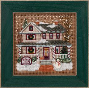 Mill Hill Buttons & Bead Kits MH143302 Winter Series 2013 ~ Village Inn ~ Christmas Village