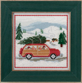 Mill Hill Buttons & Bead Kits MH143305 Winter Series 2013 ~ Family Tree