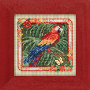 Mill Hill Buttons & Bead Kits MH144101 Spring Series 2014 ~ Parrot