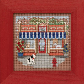 Mill Hill Buttons & Bead Kits MH144103 Spring Series 2014 ~ Pet Shoppe Main Street