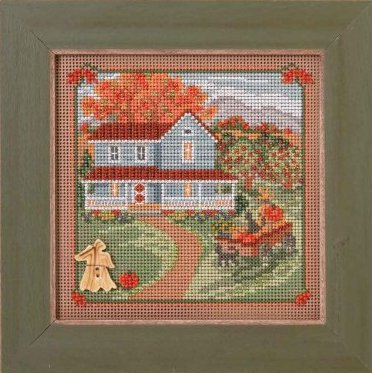 Mill Hill Buttons & Bead Kits MH144203 Country Lane Series 2014 ~ Harvest Home