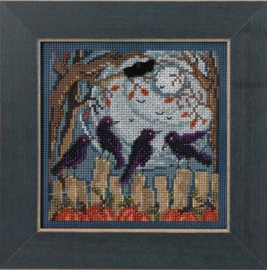 Mill Hill Buttons & Bead Kits MH144204 Autumn Series 2014 ~ Ravens