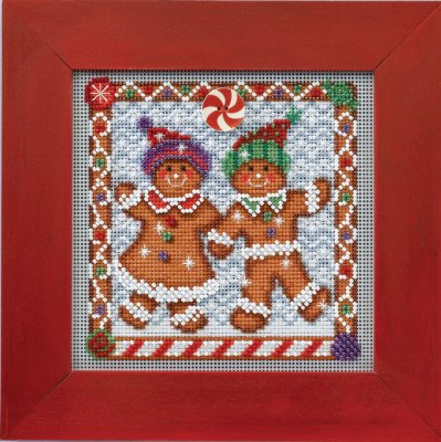 Mill Hill Buttons & Bead Kits MH144301 Winter Series 2014 ~ Ginger Friends