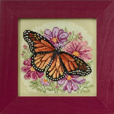 Mill Hill Buttons & Bead Kits MH145105 Spring Series 2015 ~ Winged Monarch