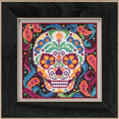 Mill Hill Buttons And Bead Kits MH145204 Autumn Series 2015 ~ Sugar Skull