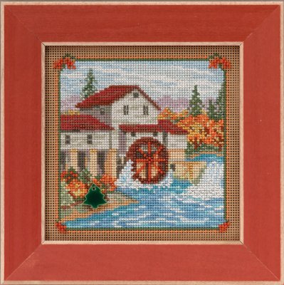 Mill Hill Buttons And Bead Kits MH145205 Autumn Series 2015 ~ Country Mill ~ Country Lane