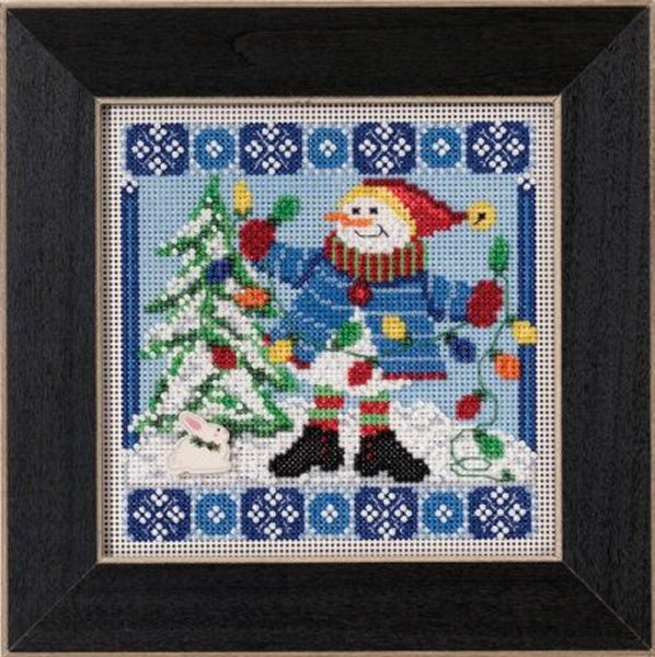 Mill Hill Buttons And Bead Kits MH145303 Winter Series 2015 ~ Mr. Jack Frost