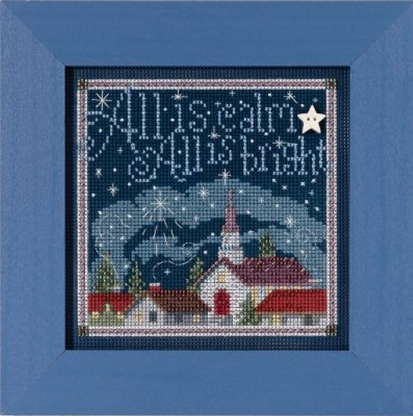 Mill Hill Buttons And Bead Kits MH145305 Winter Series 2015 ~ All Is Calm