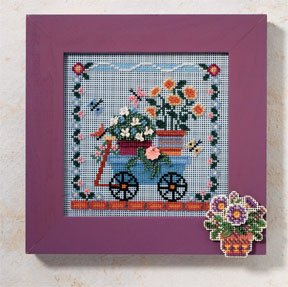 Mill Hill Buttons & Bead Kits MH146103 Spring Series 2006 ~ Welcome Wagon