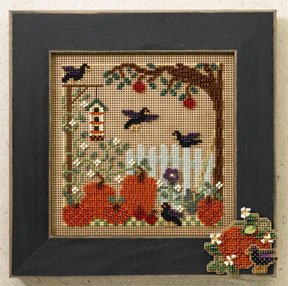 Mill Hill Buttons & Bead Kits MH146201 Autumn Series 2006 ~ Pumpkin Patch