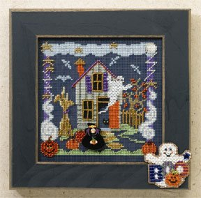 Mill Hill Buttons & Bead Kits MH146204 Autumn Series 2006 ~ Boo House