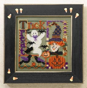 Mill Hill Buttons & Bead Kits MH146205 Autumn Series 2006 ~ Trick Or Treat Collage