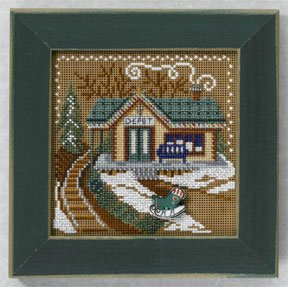 Mill Hill Buttons & Bead Kits MH146304 Winter Series 2006 ~ Train Depot