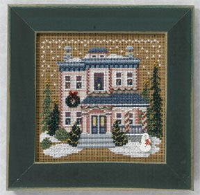 Mill Hill Buttons & Bead Kits MH146305 Winter Series 2006 ~ Victorian House