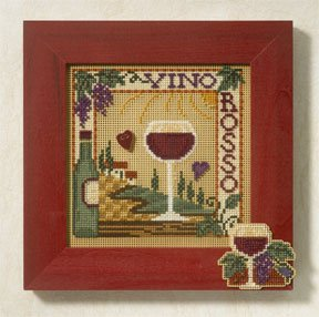 Mill Hill Buttons & Bead Kits MH147102 Spring Series 2007 ~ Vina Rosso
