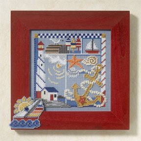 Mill Hill Buttons & Bead Kits MH147105 Spring Series 2007 ~ Seaside Sampler