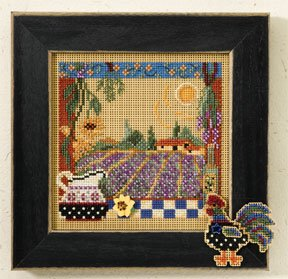 Mill Hill Buttons & Bead Kits MH147203 Autumn Series 2007 ~ Lavender Fields