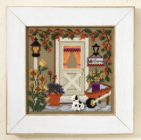 Mill Hill Buttons & Bead Kits MH147206 Autumn Series 2007 ~ Country Welcome